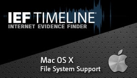 News Release: Internet Evidence Finder Adds Mac OS X File