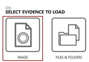 Select evidence to load