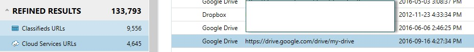 Google Drive and Dropbox on the system