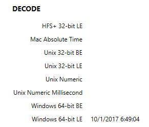 Screenshot of AXIOM Details card showing install date/time value
