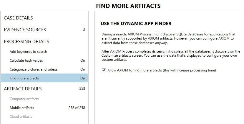 Dynamic App Finder