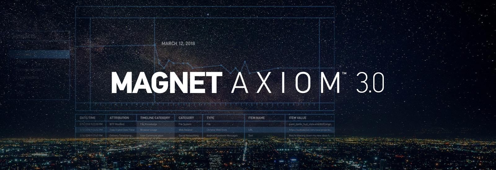 Magnet AXIOM 3.0
