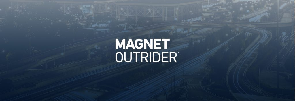 Clearing the Way with Magnet OUTRIDER