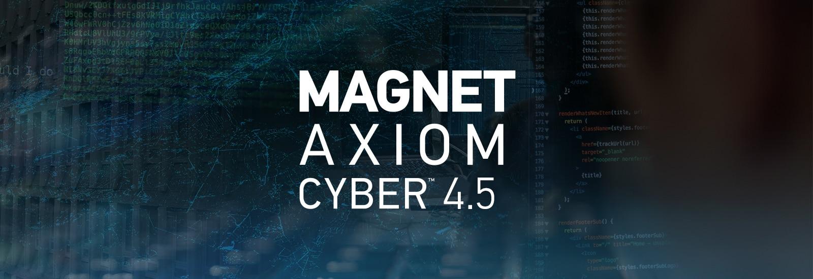 Magnet AXIOM Cyber 4.5